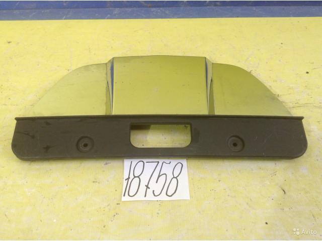 Mercedes GLC W166 Хром Накладка переднего бампера