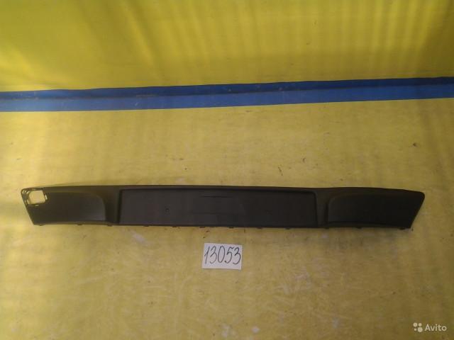 Opel Corsa D Накладка переднего бампера