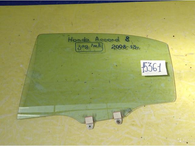 Honda Accord 8 Стекло заднее левое