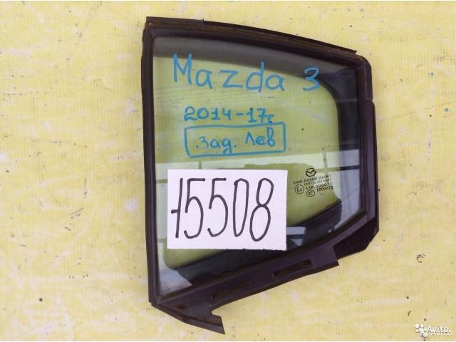 Mazda 3 BM форточка задняя правая